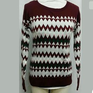 MOSSIMO Sweater in Burgundy